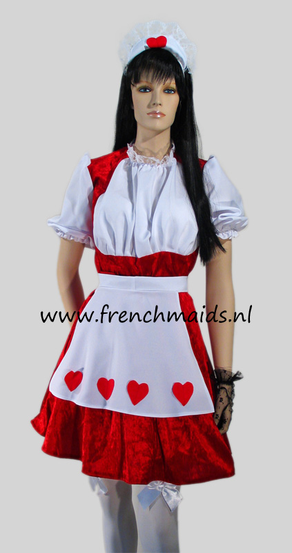 Flirty French Maid Costume from Kinky French Maids Costumes and Uniforms Collection by Frenchmaids.nl