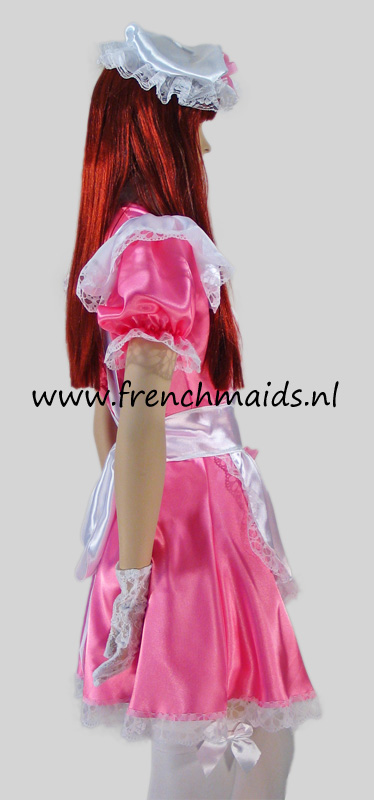 Pink Dream French Maid Costume from our Sexy French Maids Uniforms Collection - photo 3.