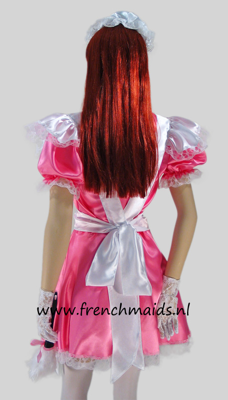 Pink Dream French Maid Costume from our Sexy French Maids Uniforms Collection - photo 4.