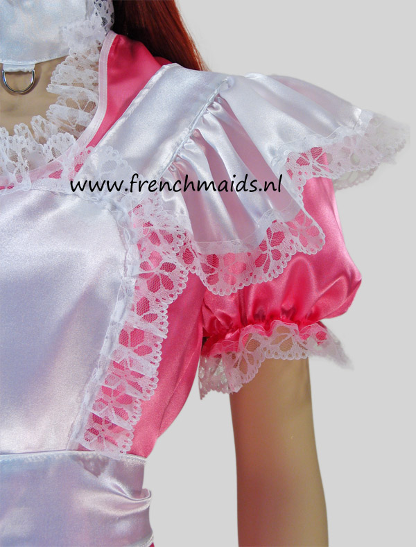 Pink Dream French Maid Costume from our Sexy French Maids Uniforms Collection - photo 9.