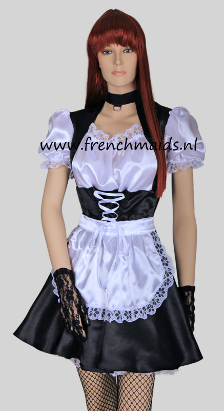 Pleasure Princess French Maid Costume from Kinky French Maids Costumes and Uniforms Collection by Frenchmaids.nl