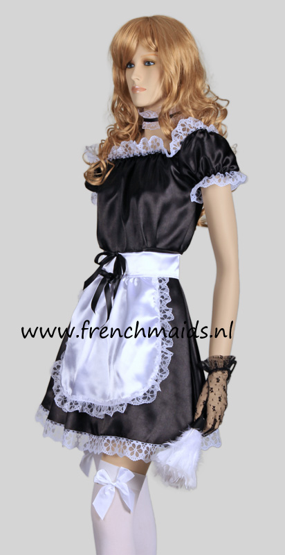 Hot Sexy French Maid Costume from our Sexy French Maids Uniforms Collection: photo 2.