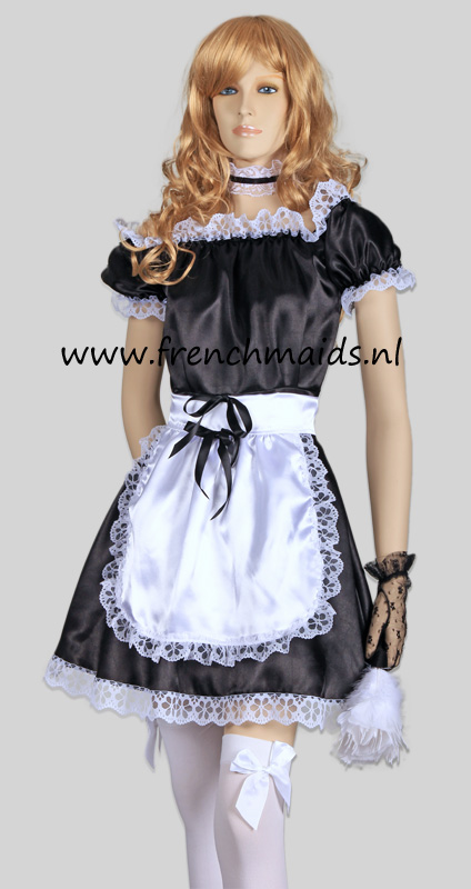 Hot Sexy French Maid Costume from Sexy French Maids Costumes and Uniforms Collection by Frenchmaids.nl