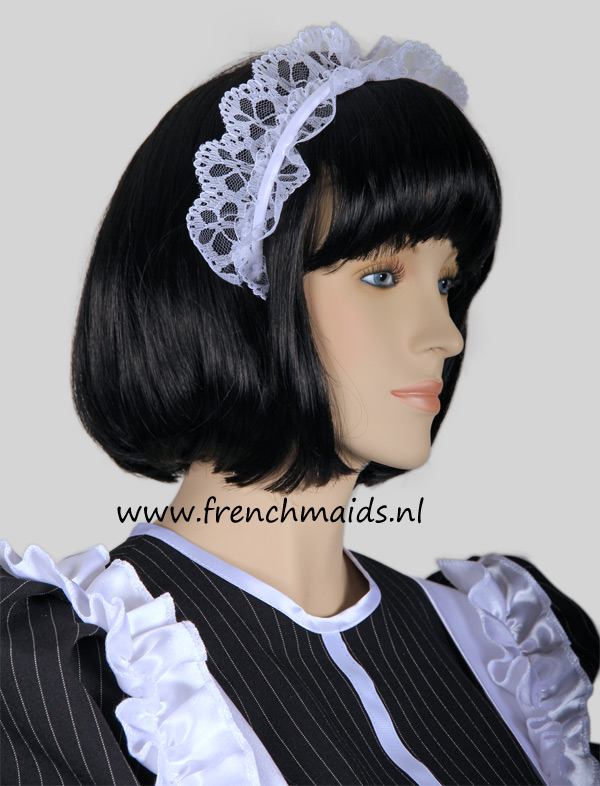 Night Service French Maid Costume from our Sexy French Maids Uniforms Collection: photo 12.