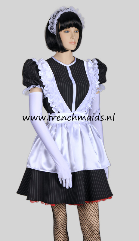 Night Service French Maid Costume from our Sexy French Maids Uniforms Collection: photo 6.