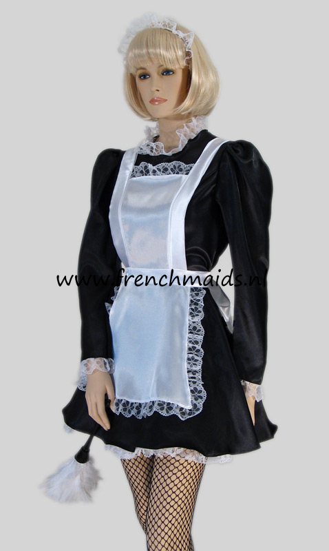 Sexy French Chamber Maid Costume from our Victorian French Maids Uniforms Collection: photo 3.