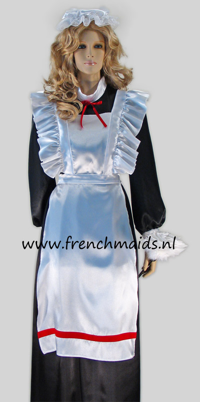 Victorian French Maid Costume from Victorian French Maids Costumes and Uniforms Collection by Frenchmaids.nl
