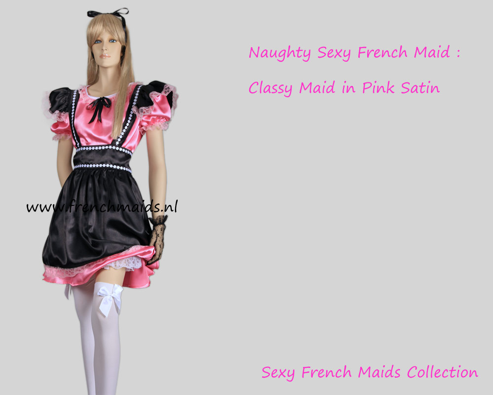 Naughty Sexy French Maid Costume by Frenchmaids.nl