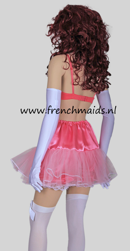 Petticoat Satin Accessories For French Maid Costumes And